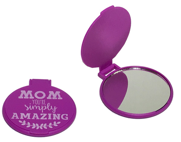 Mom Compact Flip Mirror - Mom Gifts - Holiday Gifts Mart