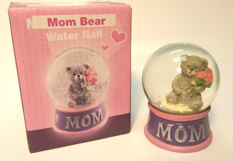 Mom Bear Water Ball - Mom Gifts - Holiday Gifts Mart