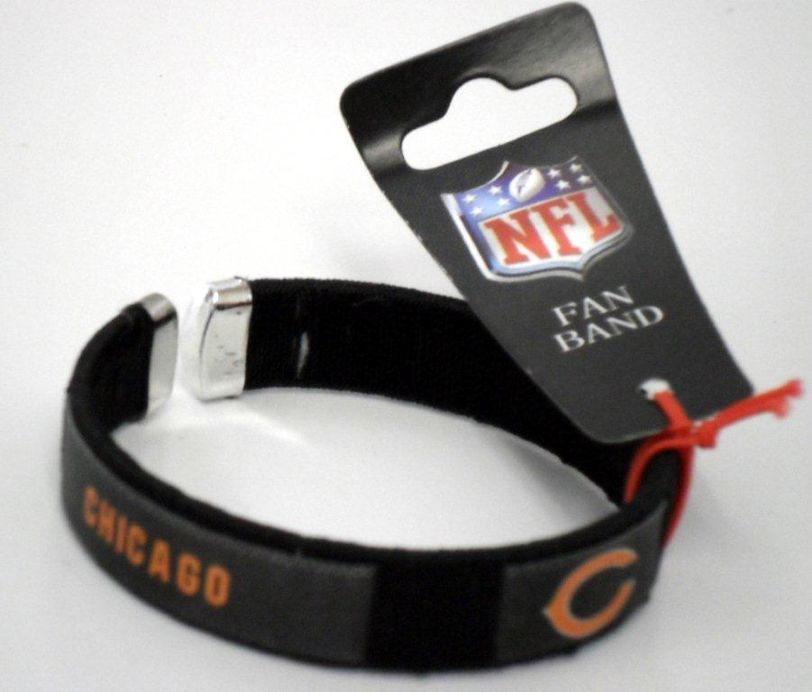 Chicago Bears Fan Band - Jewelry Gifts - Holiday Gifts Mart