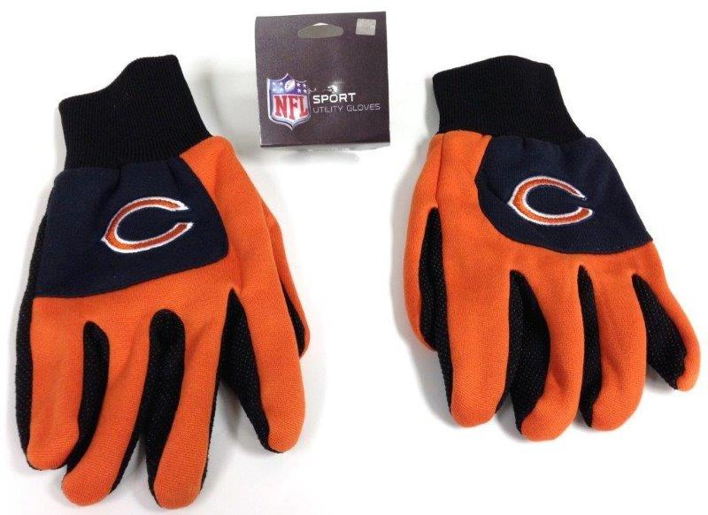 NFL Sport Utility Gloves - Bears - Sports Team Logo Gifts - Holiday Gifts Mart