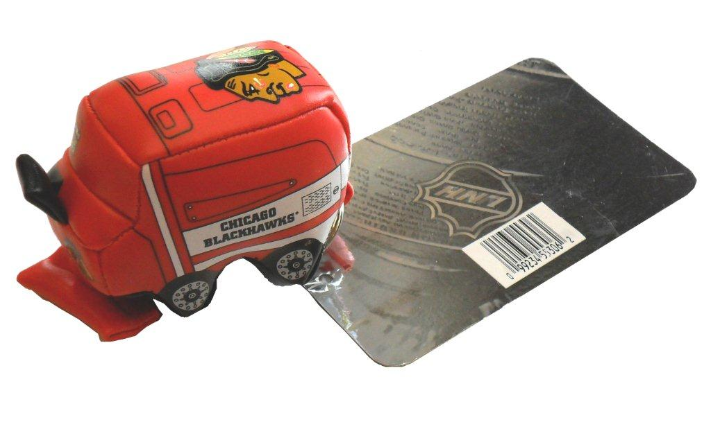 NHL Chicago Blackhawks Zamboni Keychain - Sports Team Logo Gifts - Holiday Gifts Mart