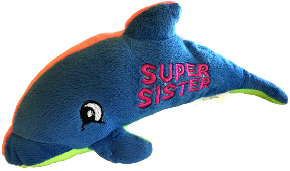 Sister Plush Dolphin - Sister Gifts - Holiday Gifts Mart