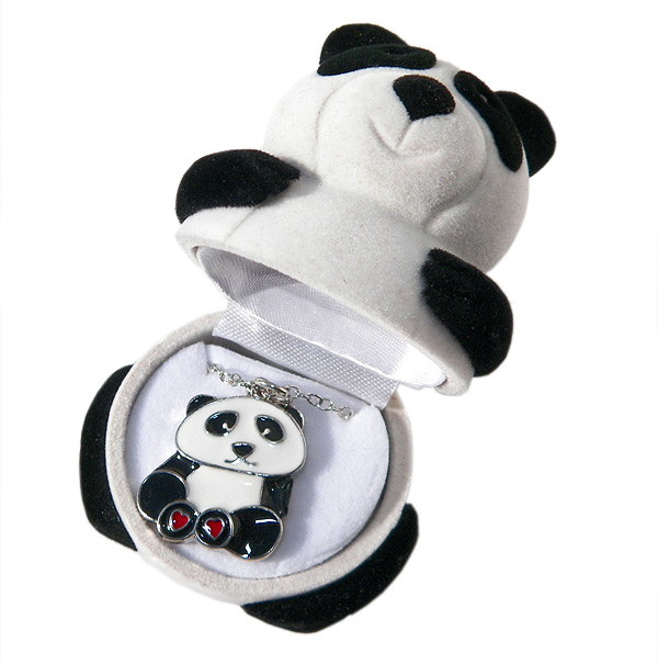 Panda Necklace in Panda Box - Jewelry Gifts - Holiday Gifts Mart