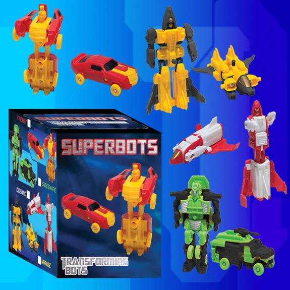 Superbots Transforming Robots