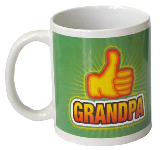 Thumbs Up Emoji Grandpa Mug - Grandpa Gifts - Holiday Gifts Mart