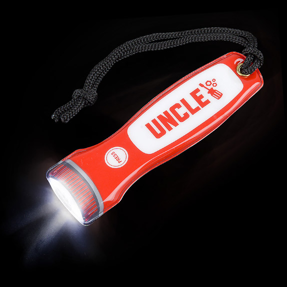 Uncle Magnetic Flashlight on Lanyard - Uncle Gifts - Holiday Gifts Mart