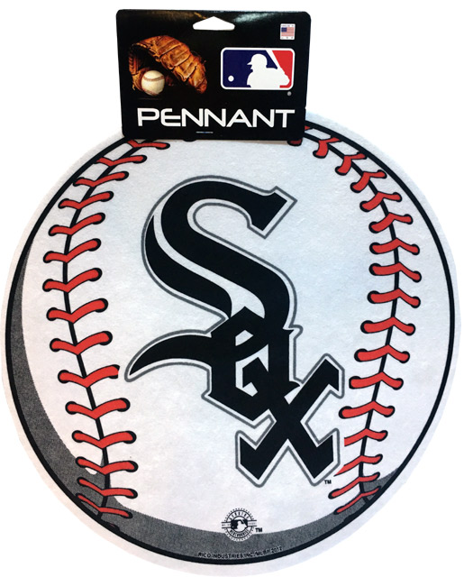 Chicago White Sox MLB Pennant - Sports Team Logo Gifts - Holiday Gifts Mart