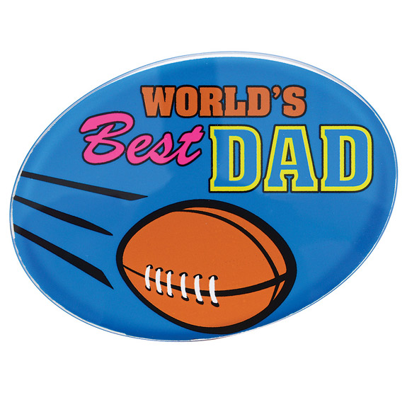 World's Best Dad Paperweight - Dad Gifts - Holiday Gifts Mart
