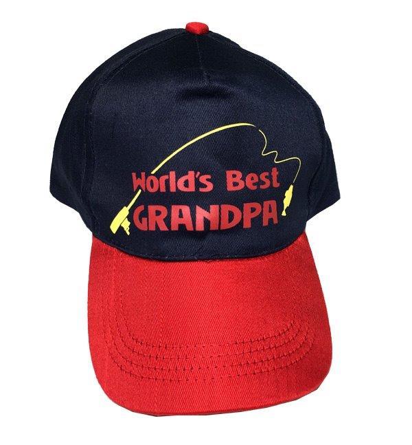 Worlds Best Grandpa Cap - Grandpa Gifts - Holiday Gifts Mart