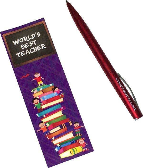 Teacher Pen with Bookmark - Teacher Gifts - Holiday Gifts Mart