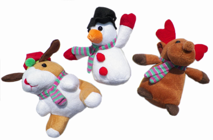 Holiday Plush 5.5 Inch - Plush Gifts - Holiday Gifts Mart