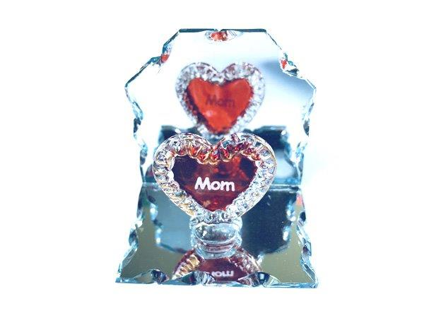 Mom Heart Mirror Plaque - Mom Gifts - Holiday Gifts Mart