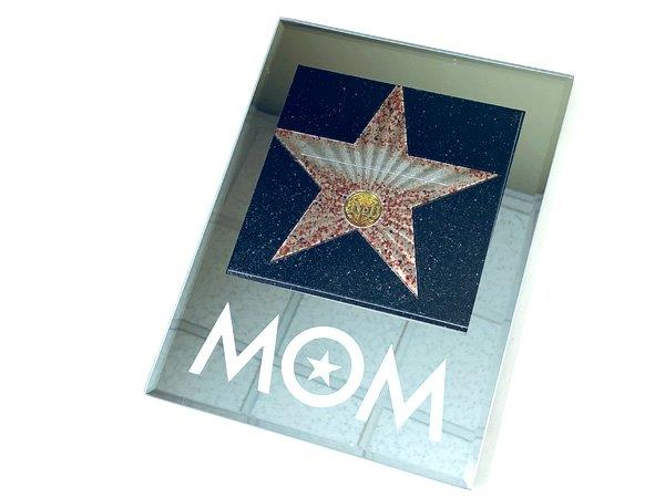 Mom Walk Of Fame Star Plaque - Mom Gifts - Holiday Gifts Mart