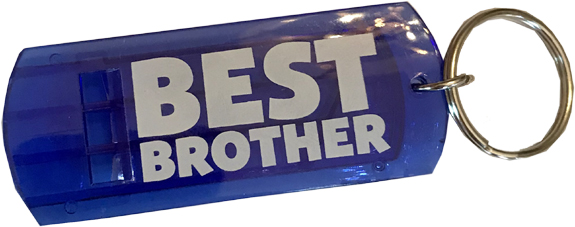 Best Brother Whistle Key Chain - Brother Gifts - Holiday Gifts Mart