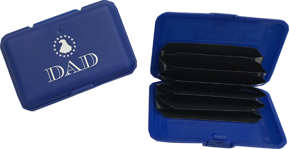 Dad Plastic Wallet - Dad Gifts - Holiday Gifts Mart