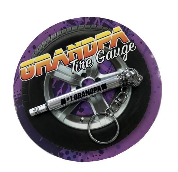 Grandpa Tire Pressure Gauge