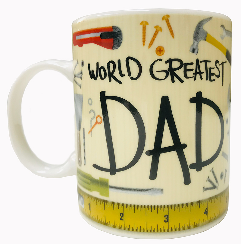 Worlds Greatest Dad Mug - Dad Gifts - Holiday Gifts Mart
