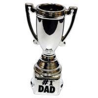 Dad Silver Trophy - Dad Gifts - Holiday Gifts Mart