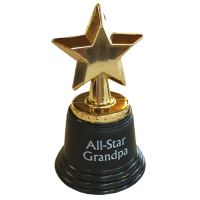 All Star Grandpa Trophy - Grandpa Gifts - Holiday Gifts Mart