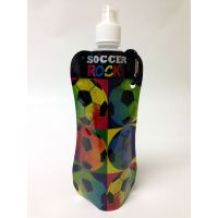 Soccer Rocks Collapsible Water Bottle - Gifts For Boys & Girls - Holiday Gifts Mart