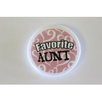 Favorite Aunt Pin - Aunt Gifts - Holiday Gifts Mart