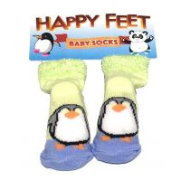Happy Feet Baby Socks - Baby Gifts - Holiday Gifts Mart