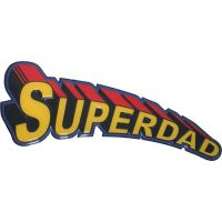 Super Dad Sign - 18 Inch - Dad Gifts - Holiday Gifts Mart