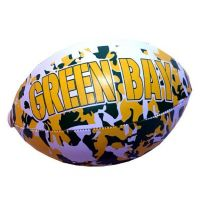 Green Bay Vinyl Camouflage Football - 6 Inch - Sports Team Logo Gifts - Holiday Gifts Mart