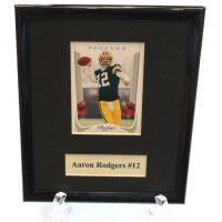 Aaron Rodgers NFL Sports Star Plaque - Sports Team Logo Gifts - Holiday Gifts Mart