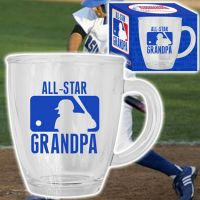 All-Star Grandpa Glass Mug