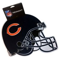 Chicago Bears Sports Team Helmet Pennant - Sports Team Logo Gifts - Holiday Gifts Mart