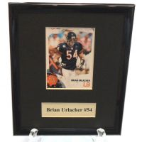 Brian Urlacher NFL Sports Star Plaque - Sports Team Logo Gifts - Holiday Gifts Mart