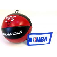 NBA Vinyl Basketball - Bulls - Sports Team Logo Gifts - Holiday Gifts Mart