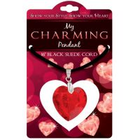 Heart Charm Pendant - Jewelry Gifts - Holiday Gifts Mart