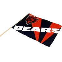 Team Flag on Stick - Bears - Sports Team Logo Gifts - Holiday Gifts Mart