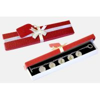 Christmas Charm Bracelet Red Box - Jewelry Gifts - Holiday Gifts Mart