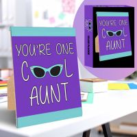 Cool Aunt Plaque