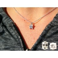 Genuine Cubic Zirconia Pendant in Blue Box - Jewelry Gifts - Holiday Gifts Mart