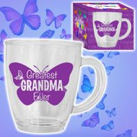 Greatest Grandma Glass Mug