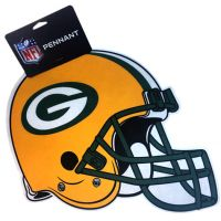Green Bay Packers Team Helmet Pennant - Sports Team Logo Gifts - Holiday Gifts Mart