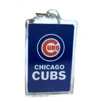 Chicago Cubs MLB Acrylic Keychain - Sports Team Logo Gifts - Holiday Gifts Mart