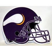 Minnesota Vikings Helmet Pennant - Sports Team Logo Gifts - Holiday Gifts Mart