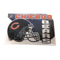 NFL Button Pin - Chicago Bears - Sports Team Logo Gifts - Holiday Gifts Mart
