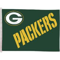 Green Bay Packers Banner Flag - Sports Team Logo Gifts - Holiday Gifts Mart