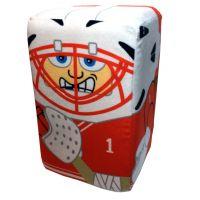 Chicago Hockey Player Stakz Plush - Sports Team Logo Gifts - Holiday Gifts Mart