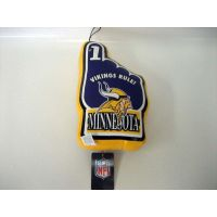 Minnesota Vikings Vinyl No 1 Hand - Sports Team Logo Gifts - Holiday Gifts Mart