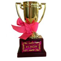 Number 1 Mom Trophy - Mom Gifts - Holiday Gifts Mart