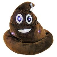 Light Up Emoticon Poo Hat - Gifts For Boys & Girls - Holiday Gifts Mart