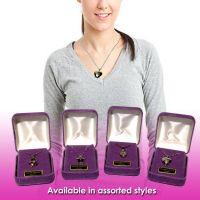 Necklace in Purple Box (Gold-Silver)