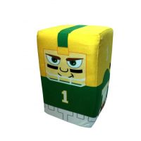 10 Inch Green Bay Player Stackable Plush - Sports Team Logo Gifts - Holiday Gifts Mart